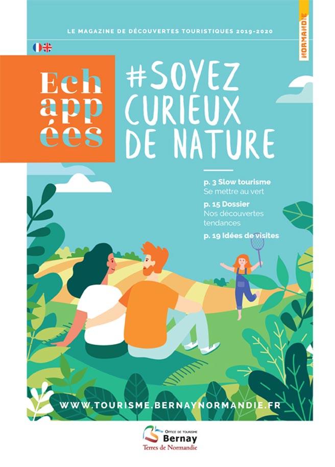 Image de couverture du magazine # Soyez Curieux de Nature - le magazine de découvertes touristiques
