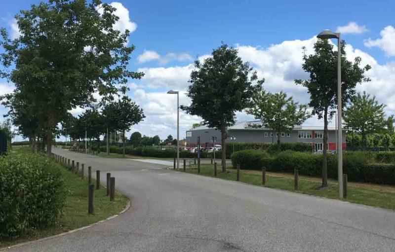 Photo représentant la zone d'activités des Granges - Bernay